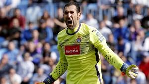 Diego López quiere seguir en el Espanyol