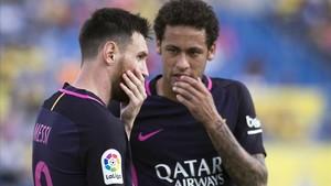 Neymar siente admiración por Messi