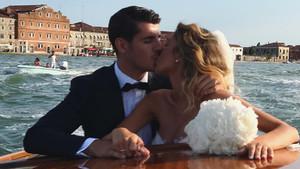 Morata y Alice, en Venecia