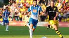 Leo Baptistao conduce un ataque del Espanyol