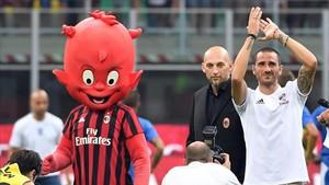 Bonucci se siente ahora muy identificado con el Milan