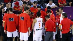 La selección española debe reflexionar de cara a intentar lograr el bronce
