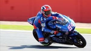 Pasini fue el más rápido en Moto2