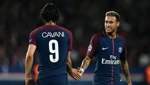 Neymar afirmó que todo está bien con Cavani