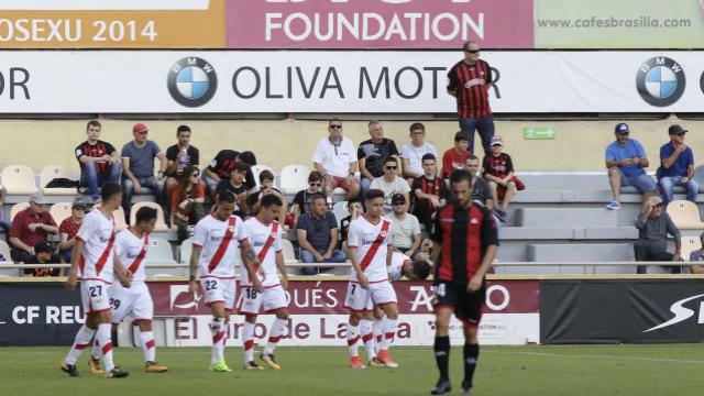 LALIGA 123   Reus - Rayo (0-2)