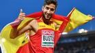 David Bustos devolvió la sonrisa al depresivo 1.500 metros español