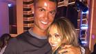 La felicitaci�n de Cristiano Ronaldo a Jennifer L�pez