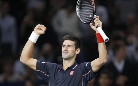 Djokovic supo sufrir en el primer set y lo tuvo f�cil en el segundo