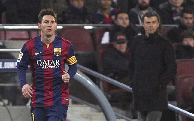 Messi deja al Barcelona