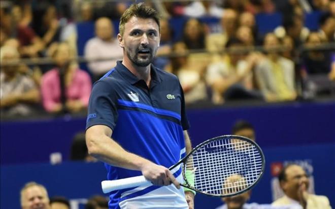 Goran Ivanisevic sigue siendo genio y figura