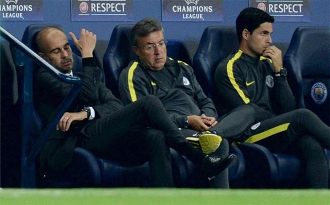 A Guardiola y su City no le ha gustado un pelo el sorteo europeo que le obligar� a enfrentarse, entre otros rivales, a su Bar�a