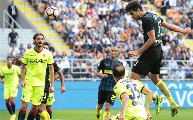 El Inter tropez� ante el Bolonia