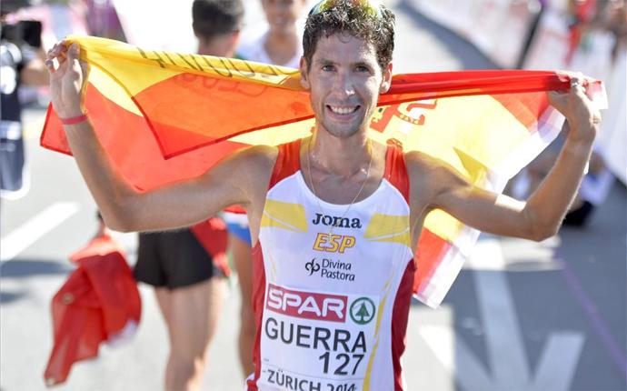 Javi Guerra acaba cuarto el maratón