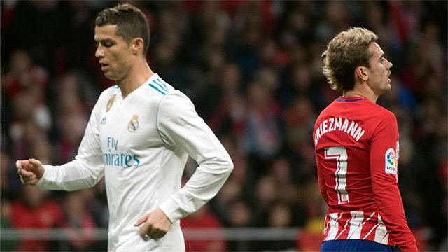 Resultado de imagen de Atlético de Madrid  0-0  Real Madrid