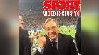 """Sport pilla a Florentino 'in fraganti': """"Nosotros tenemos once, vosotros cinco"""""""