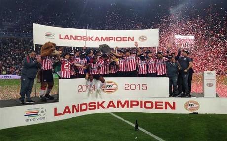 El PSV Eindhoven gana la Liga de Holanda