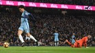 Doble cantada de Lloris en los goles del City
