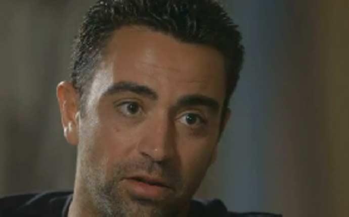 """Xavi: \""""Si fuera por m� nunca me ir�a del Bar�a\"""""""