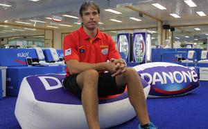Toni Caparrós también es el preparador físico del FC Barcelona de baloncesto