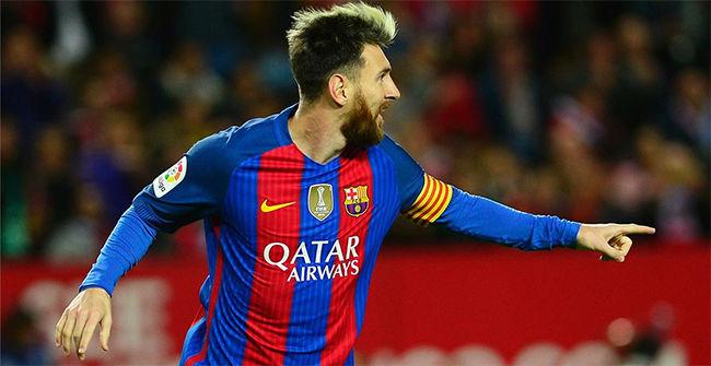 Gol de Leo Messi - Resumen Sevilla - FC Barcelona (1-2)