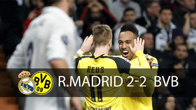 Vea las mejores imágenes del Real Madrid - Borussia Dortmund