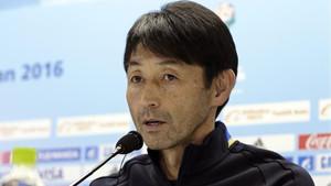 Masatada Ishii, entrenador del Kashima Antlers, tras la final del Mundial de Clubes 2016