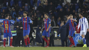 El Barça consiguió romper la maldición en Anoeta