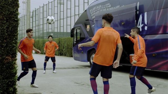 El reto del Barça Juvenil