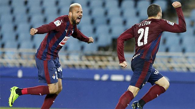Video resumen del Real Sociedad - Eibar (2-2) - Jornada 25 - LaLiga Santander