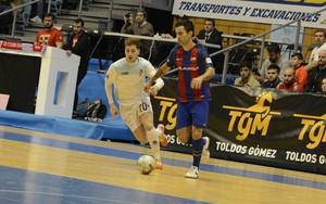 El Barça Lassa sufrió para doblegar a su rival
