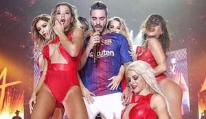 Maluma actuó en Barcelona
