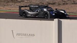 Alonso, en pista en MotorLand