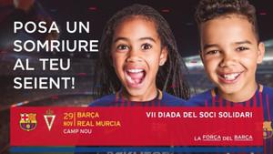 El cartel de la VII Fiesta del Socio Solidario