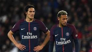 Cavani habló de su relación con Neymar