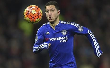 Eden Hazard, jugador del Chelsea