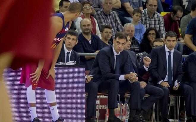 Georgios Bartzokas y su cuerpo t�cnico quieren ampliar la rotaci�n del equipo ante la avalancha de lesiones y la sucesi�n de partidos