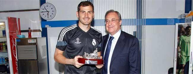 Homenaje a escondidas a Iker Casillas