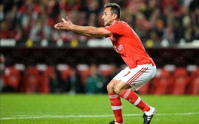 Jonas no volvera a vestir la camiseta del Benfica hasta 2017.