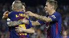 Así fue el primer gol de Iniesta esta temporada