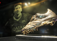 Leo Messi recibe este viernes su cuarta Bota de Oro
