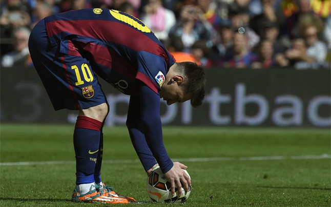 Messi has been successful with nearly 80 percent of his ...