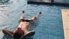 Messi, en la piscina
