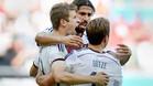 Muller celebrates opener