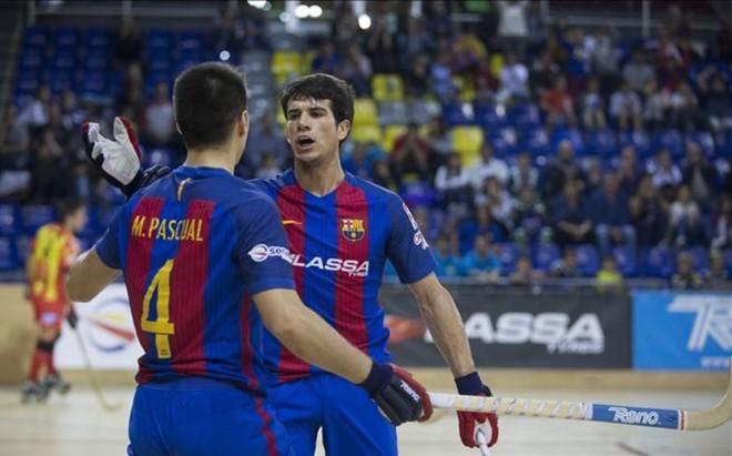 Un colosal Pablo Álvarez conduce al Barça hacia el 11 de 11