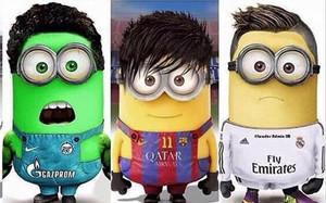 ¿Qué minion es cada futbolista?