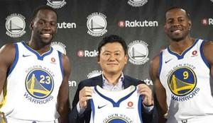 Rakuten patrocinará a los Golden State Warriors