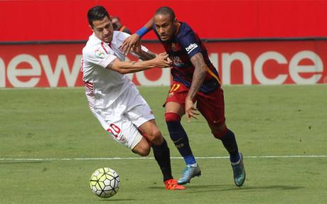 El Sevilla y el Bar�a disputar�n la final de Copa