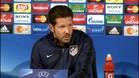 """Simeone: """"Me dan miedo todos los partidos"""""""