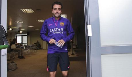 Xavi, satisfecho con el rendimiento que est� demostrando el equipo