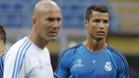 Zidane se enfada con la actitud de la BBC